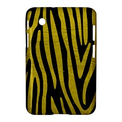 Skin4 Black Marble & Yellow Leather Samsung Galaxy Tab 2 (7 ) P3100 Hardshell Case