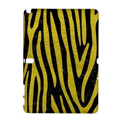 Skin4 Black Marble & Yellow Leather Galaxy Note 1