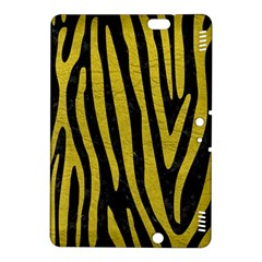 Skin4 Black Marble & Yellow Leather Kindle Fire Hdx 8 9  Hardshell Case