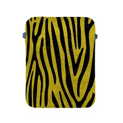 Skin4 Black Marble & Yellow Leather (r) Apple Ipad 2/3/4 Protective Soft Cases