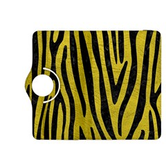 Skin4 Black Marble & Yellow Leather (r) Kindle Fire Hdx 8 9  Flip 360 Case