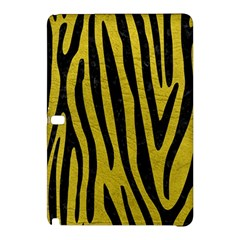 Skin4 Black Marble & Yellow Leather (r) Samsung Galaxy Tab Pro 10 1 Hardshell Case