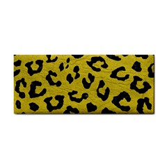 Skin5 Black Marble & Yellow Leather (r) Cosmetic Storage Cases