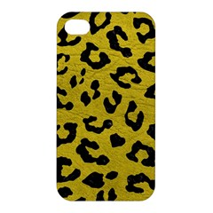 Skin5 Black Marble & Yellow Leather (r) Apple Iphone 4/4s Hardshell Case