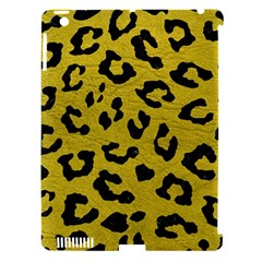 Skin5 Black Marble & Yellow Leather (r) Apple Ipad 3/4 Hardshell Case (compatible With Smart Cover)