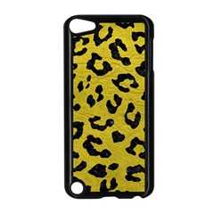 Skin5 Black Marble & Yellow Leather (r) Apple Ipod Touch 5 Case (black)