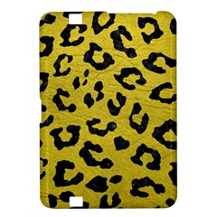 Skin5 Black Marble & Yellow Leather (r) Kindle Fire Hd 8 9