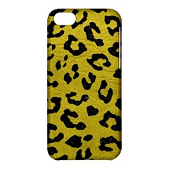 Skin5 Black Marble & Yellow Leather (r) Apple Iphone 5c Hardshell Case