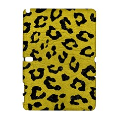 Skin5 Black Marble & Yellow Leather (r) Galaxy Note 1