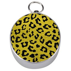 Skin5 Black Marble & Yellow Leather (r) Silver Compasses