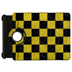 Square1 Black Marble & Yellow Leather Kindle Fire Hd 7