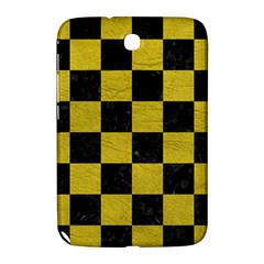 Square1 Black Marble & Yellow Leather Samsung Galaxy Note 8 0 N5100 Hardshell Case