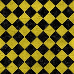 Square2 Black Marble & Yellow Leather Magic Photo Cubes