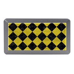 Square2 Black Marble & Yellow Leather Memory Card Reader (mini)