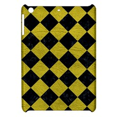 Square2 Black Marble & Yellow Leather Apple Ipad Mini Hardshell Case