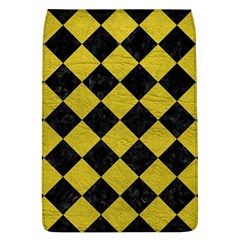 Square2 Black Marble & Yellow Leather Flap Covers (l)