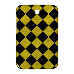 Square2 Black Marble & Yellow Leather Samsung Galaxy Note 8 0 N5100 Hardshell Case