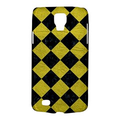 Square2 Black Marble & Yellow Leather Galaxy S4 Active