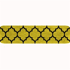 Tile1 Black Marble & Yellow Leather Large Bar Mats