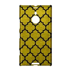Tile1 Black Marble & Yellow Leather Nokia Lumia 1520