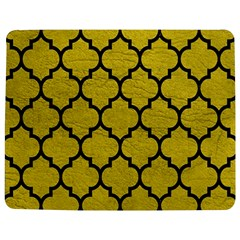 Tile1 Black Marble & Yellow Leather Jigsaw Puzzle Photo Stand (rectangular)