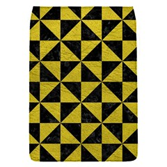 Triangle1 Black Marble & Yellow Leather Flap Covers (s)