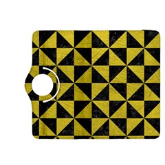 Triangle1 Black Marble & Yellow Leather Kindle Fire Hdx 8 9  Flip 360 Case