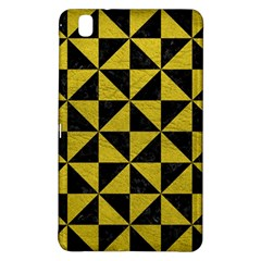 Triangle1 Black Marble & Yellow Leather Samsung Galaxy Tab Pro 8 4 Hardshell Case