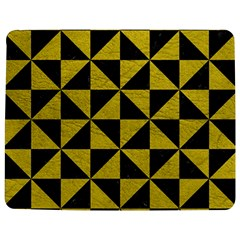 Triangle1 Black Marble & Yellow Leather Jigsaw Puzzle Photo Stand (rectangular)