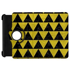 Triangle2 Black Marble & Yellow Leather Kindle Fire Hd 7