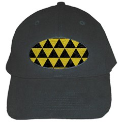 Triangle3 Black Marble & Yellow Leather Black Cap