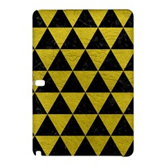 Triangle3 Black Marble & Yellow Leather Samsung Galaxy Tab Pro 10 1 Hardshell Case