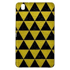 Triangle3 Black Marble & Yellow Leather Samsung Galaxy Tab Pro 8 4 Hardshell Case