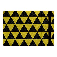 Triangle3 Black Marble & Yellow Leather Samsung Galaxy Tab Pro 10 1  Flip Case