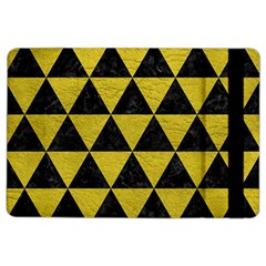 Triangle3 Black Marble & Yellow Leather Ipad Air 2 Flip