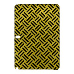 Woven2 Black Marble & Yellow Leather Samsung Galaxy Tab Pro 12 2 Hardshell Case