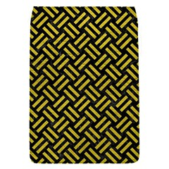 Woven2 Black Marble & Yellow Leather (r) Flap Covers (s)