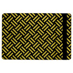 Woven2 Black Marble & Yellow Leather (r) Ipad Air 2 Flip