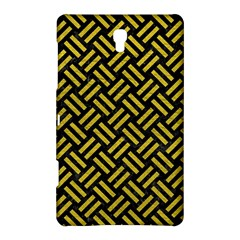 Woven2 Black Marble & Yellow Leather (r) Samsung Galaxy Tab S (8 4 ) Hardshell Case