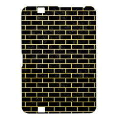 Brick1 Black Marble & Yellow Watercolor (r) Kindle Fire Hd 8 9