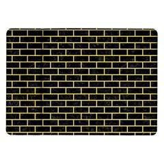 Brick1 Black Marble & Yellow Watercolor (r) Samsung Galaxy Tab 10 1  P7500 Flip Case