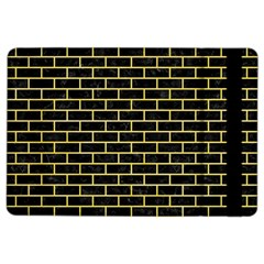 Brick1 Black Marble & Yellow Watercolor (r) Ipad Air 2 Flip