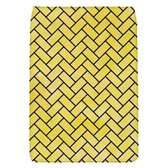 Brick2 Black Marble & Yellow Watercolor Flap Covers (s)