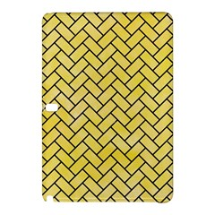 Brick2 Black Marble & Yellow Watercolor Samsung Galaxy Tab Pro 12 2 Hardshell Case