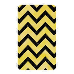 Chevron9 Black Marble & Yellow Watercolor Memory Card Reader