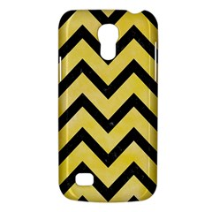 Chevron9 Black Marble & Yellow Watercolor Galaxy S4 Mini