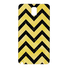 Chevron9 Black Marble & Yellow Watercolor Samsung Galaxy Note 3 N9005 Hardshell Back Case