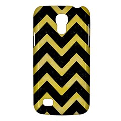 Chevron9 Black Marble & Yellow Watercolor (r) Galaxy S4 Mini