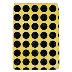 Circles1 Black Marble & Yellow Watercolor Flap Covers (s)