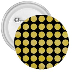 Circles1 Black Marble & Yellow Watercolor (r) 3  Buttons